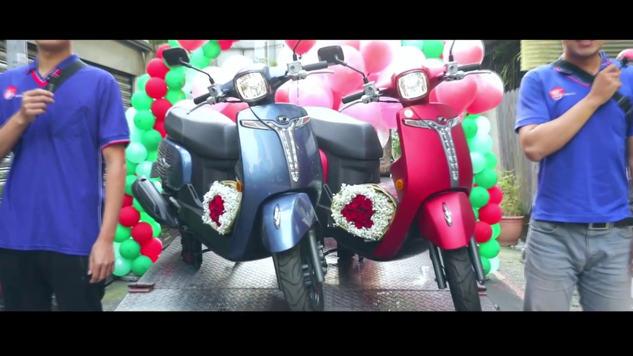 KYMCO Romeo125 聖誕篇 「為生活增添一點浪漫」
