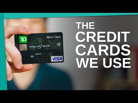 The Credit Cards We Use - Young Guys Finance