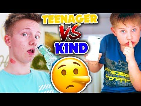 LÜGEN - Teenager vs Kind 🤥