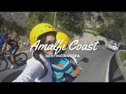 Renting a Vespa on the Amalfi Coast!!!