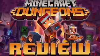 Minecraft Dungeons Review (Nintendo Switch, PS4, Xbox One, PC) (Video Game Video Review)