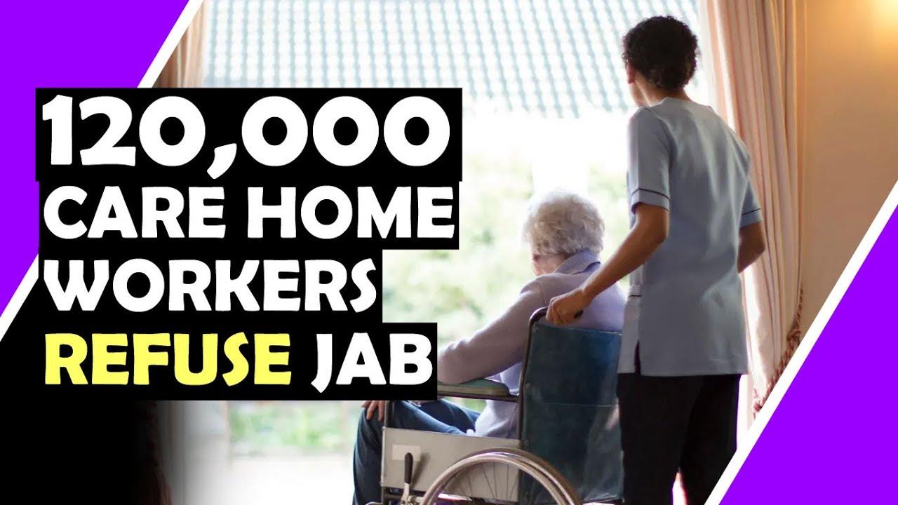 120,000 Care Home Staff Refuse JAB / Hugo Talks #lockdown