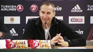 Euroleague Post - Game Press Conference: Panathinaikos OPAP Athens vs Olympiacos Piraeus