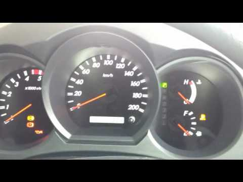 how to reset service 4 wheel drive light