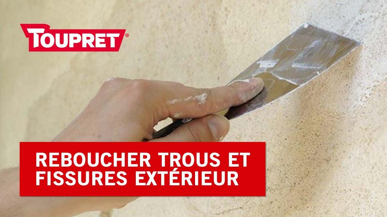 Comment Reboucher Trous Et Fissures Sur Un Mur Extérieur Tuto Rx2