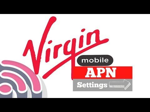 How to setup APN settings on virgin mobile saudi