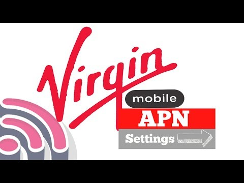 How to setup APN settings on virgin mobile saudi