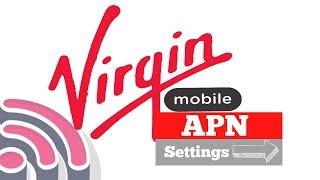 APN settings on virgin mobile KSA إعداد اسم نقطة الوصول على فيرجن موبايل