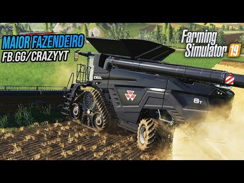 O MAIOR FAZENDEIRO DO BRASIL | Farming Simulator 19 thumbnail