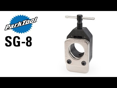 PARK TOOLS SG-8 THREADLESS SAW GUIDE FOR CARBON COMPOSITE FORKS BICYCLE TOOL