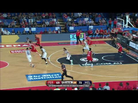 Tai Wesley Posts 21 points & 10 rebounds vs. Perth Wildcats