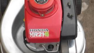 Honda HR21.5 HR21 - 5 lawn mower demo