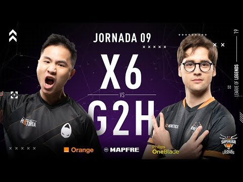 X6TENCE VS G2 HERETICS | Superliga Orange League of Legends | Jornada 09 | Temporada 2019 thumbnail