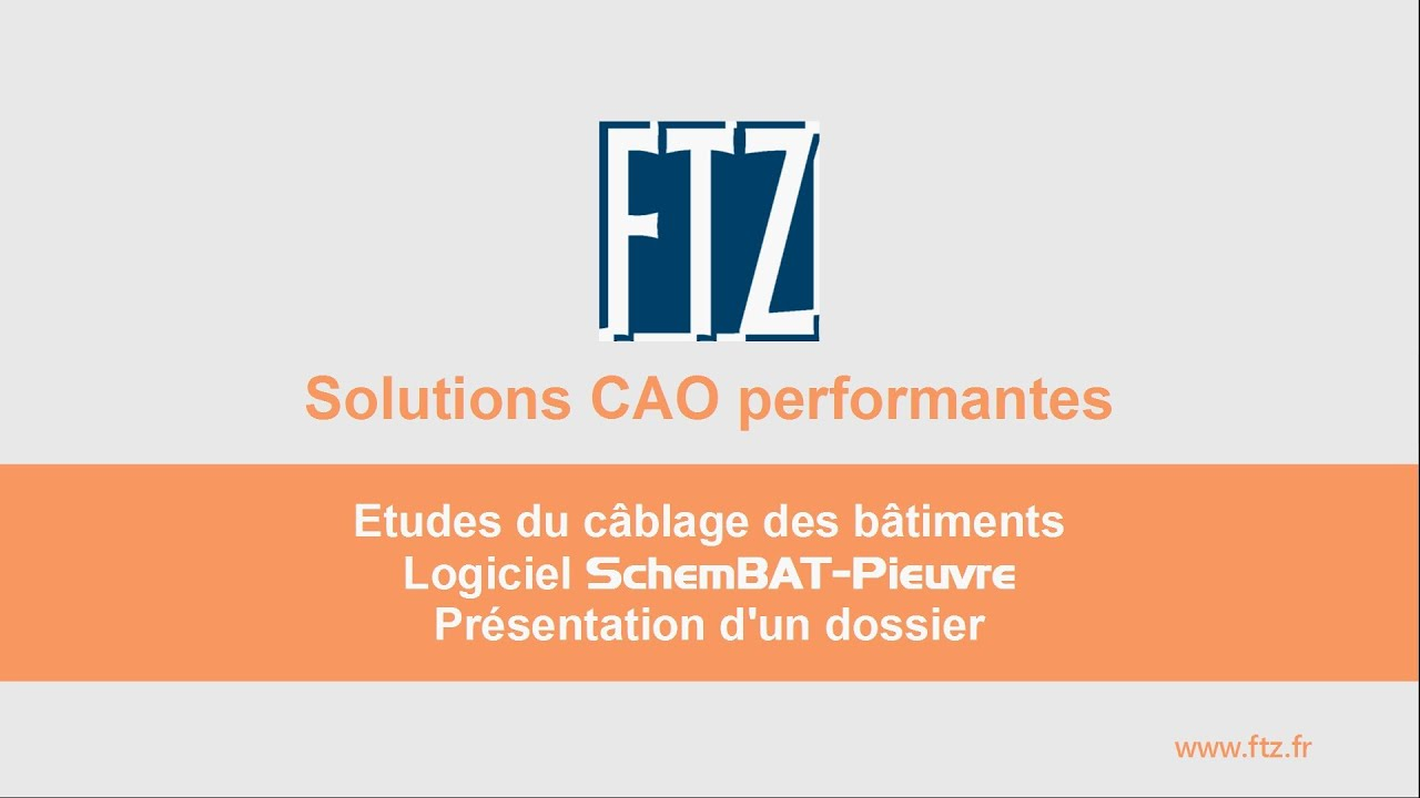 Ftz Logiciel Dao Cao Cablage Pieuvre Des Batiments Schembat
