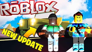 *NEW* ROBLOX JAIL BREAK UPDATE!! ( Free Jeep, New Prison, & Alien Invasion!)