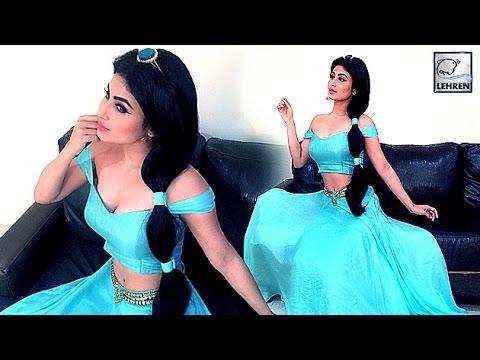 Mouni roys stunning disney princess look youtube altavistaventures Image collections