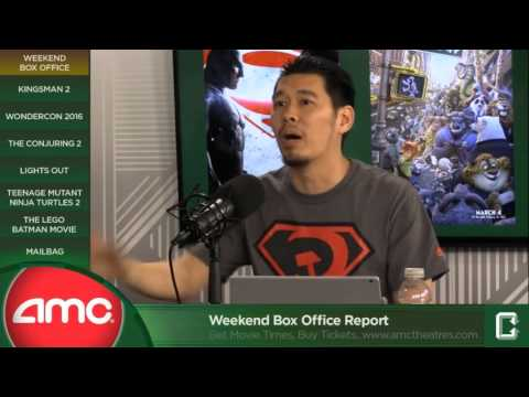 Weekend box office report presented by amc theatres mar 28 youtube - Box office week end france ...