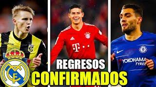 LOS REGRESOS CONFIRMADOS DEL NUEVO REAL MADRID 2019/20 | ¿QUIENES SON? | FICHAJES