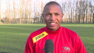 Andile Jali interview at KVO / KV Oostende