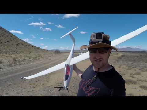 Ventus 2C Maiden Flight in the Great Karoo