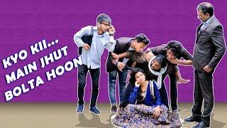 KYO KII MAIN JHUT BOLTA HOON   FULL ENTERTAINMENT   FIROJ CHAUDHARY   COMEDY 2019