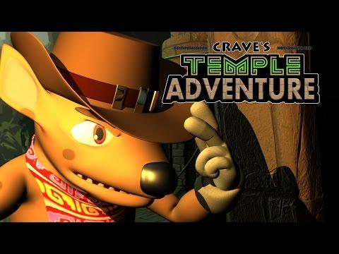 """CGI Animated Short Film """"Crave's Temple Adventure"""""""