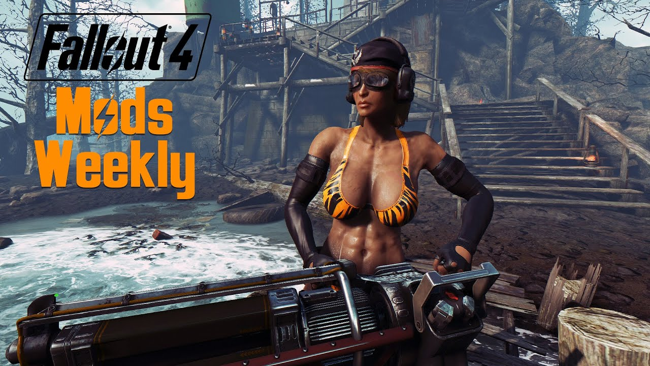 Fallout 4 Mods Weekly - Week 20 (PC/Xbox One) - YouTube