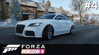 Forza Horizon 4 PC [#4] Uliczne Wyścigi i EPICKIE Audi TT RS /z Skie