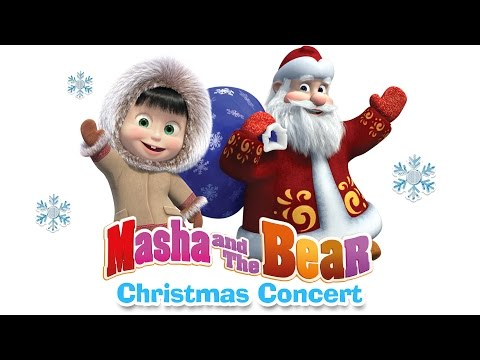 Thumbnail: Masha and the Bear - Christmas songs for kids. Happy New Year 2017!