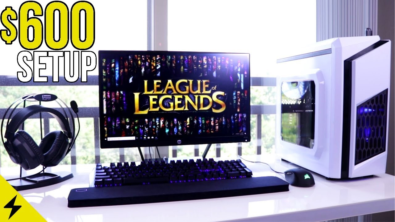 $600 COMPLETE PC Gaming Setup Guide 2018!