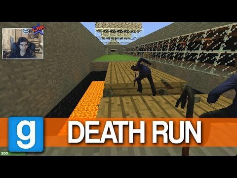 MINECRAFT MAP! - GMOD Death Run - (Garry's Mod Deathrun)