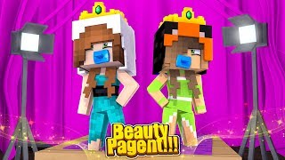 BABY ARIANA'S FIRST BEAUTY PAGEANT! (Minecraft Little Carly).