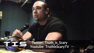 Chino XL Talks Armageddon, Mayan Calendar, Illuminati, 9/11, Ghosts, & more w/ TRUTHISSCARY.com