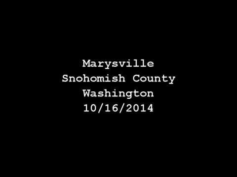 Marysville, Snohomish Couty, WA, Police Pursuit, Officer Shot, with PD & FD EMS Audio
