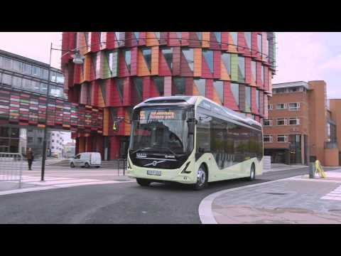 Volvo Electric Bus Gothenburg Route 55 ENG
