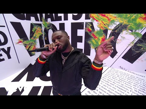 Headie One - EDNA Medley (Live at The BRIT Awards 2021) ft. AJ Tracey, Young T & Bugsey
