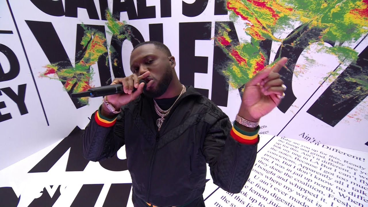 Download Headie One - EDNA Medley (Live at The BRIT Awards 2021) ft. AJ Tracey, Young T & Bugsey