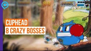 Cuphead - 8 incredibly weird and wonderful bosses - Gamescom 2015