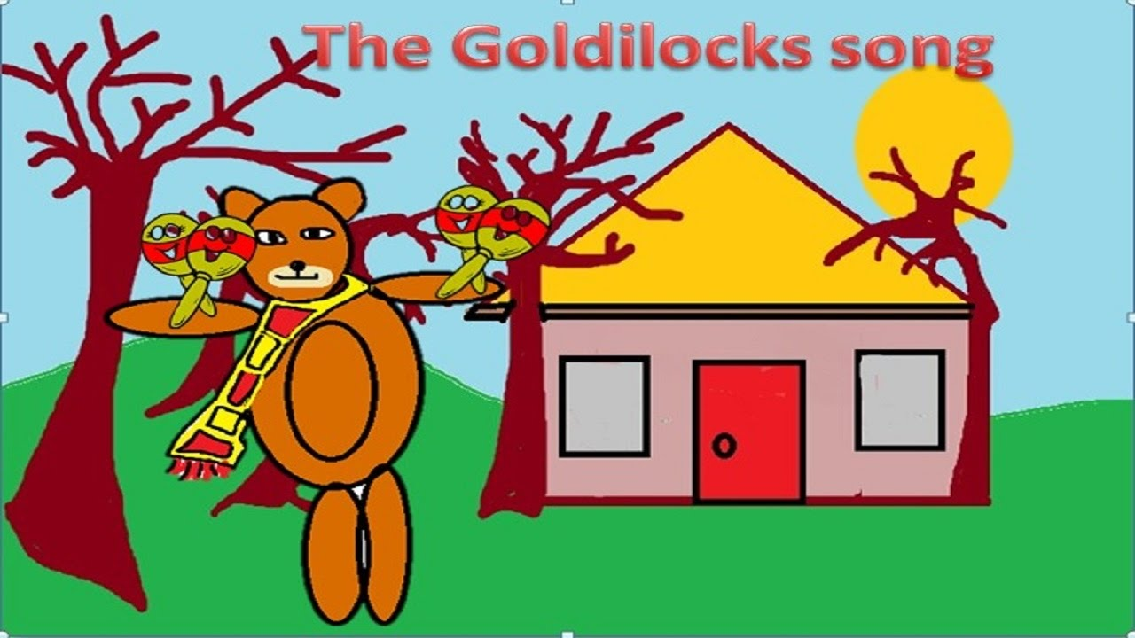 when goldilocks went to the house of the bears. - youtube