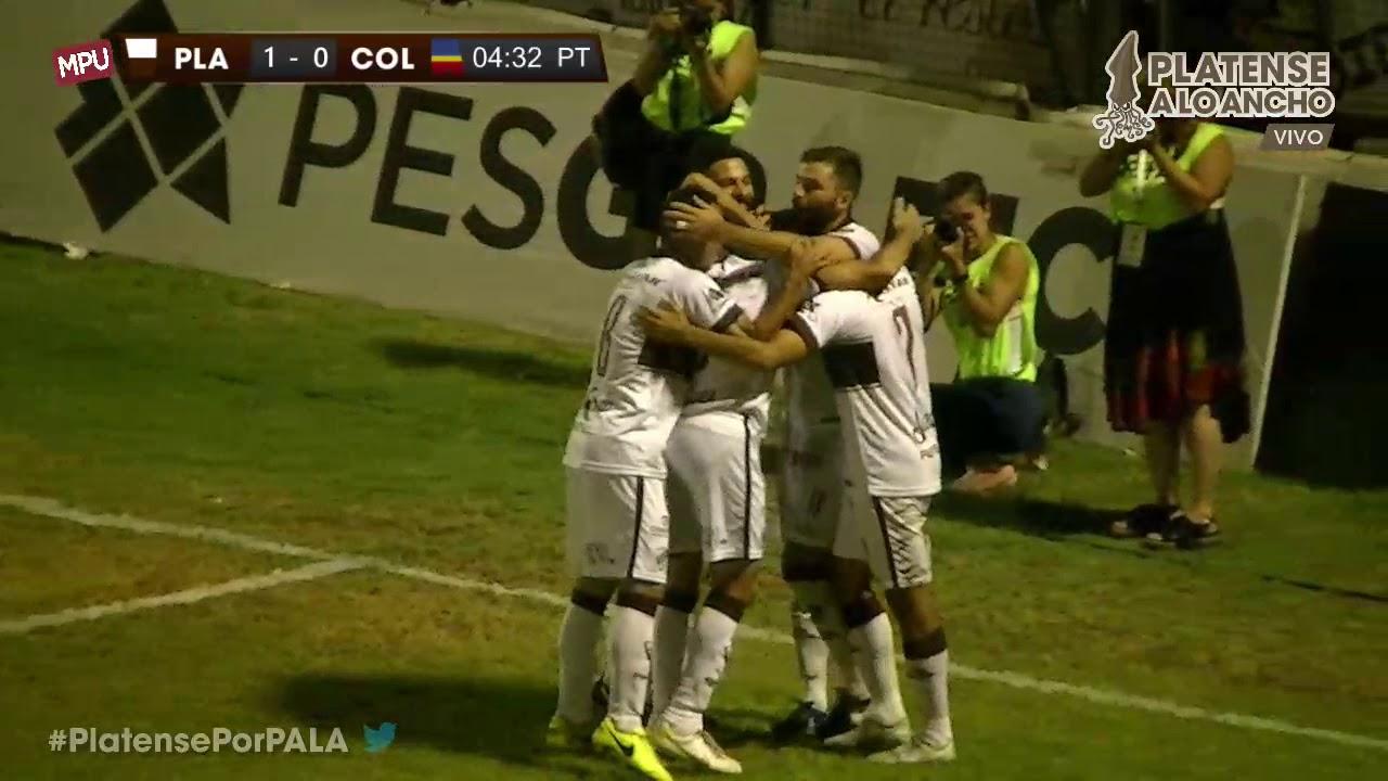 Gol de Daniel Vega (P) | Platense 1 - 0 Colegiales | TRANSMISIÓN | Fecha 17  | Campeonato 2017/2018 - YouTube