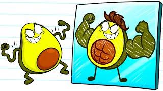 PENCILMATE Becomes A VEGETABLES - Cartoons