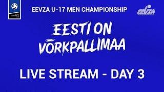EEVZA U 17 Men Championship L VE   DAY3
