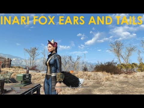 Fallout 4 Mod Review Inari Fox Ears and Tails Mp3 indir