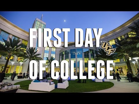 FIRST DAY OF COLLEGE VLOG 2018   University of Central Florida   Freshman Year