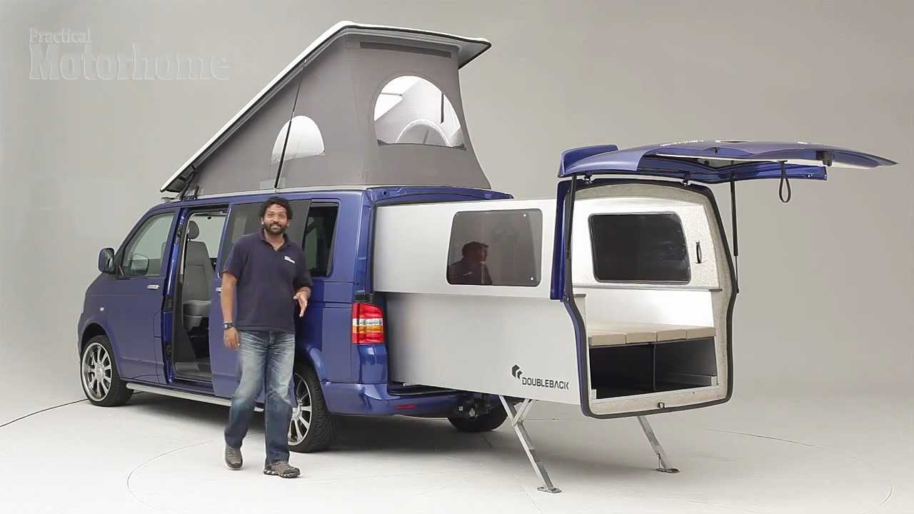 practical motorhome doubleback vw camper review youtube. Black Bedroom Furniture Sets. Home Design Ideas
