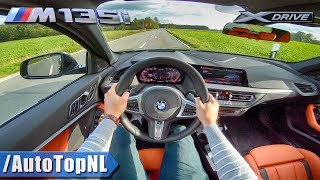 2020 BMW 1 Series F40 M135i xDrive POV Test Drive by AutoTopNL