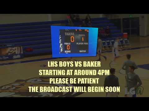 021418 LHS Tigers Boys v.s. Baker City at La Grande