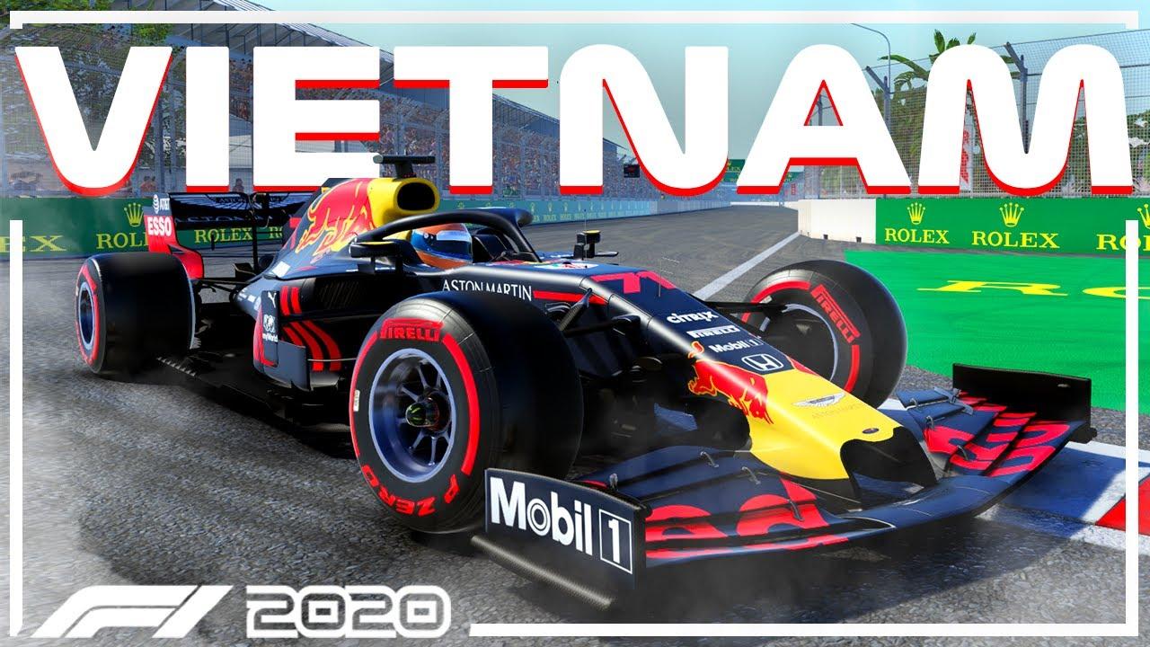 F1 2020 HANOI VIETNAM CIRCUIT! (F1 2020 Hanoi Vietnam Gameplay Onboard - Nederlands)