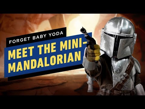 Meet The Mini-Mandalorian
