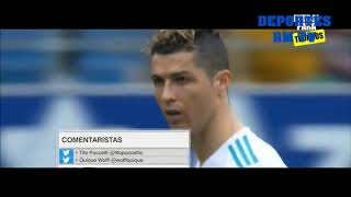 RESUMEN EIBAR VS REAL MADRID  1 - 2  LIGA SANTANDER 10 / 03 / 2018